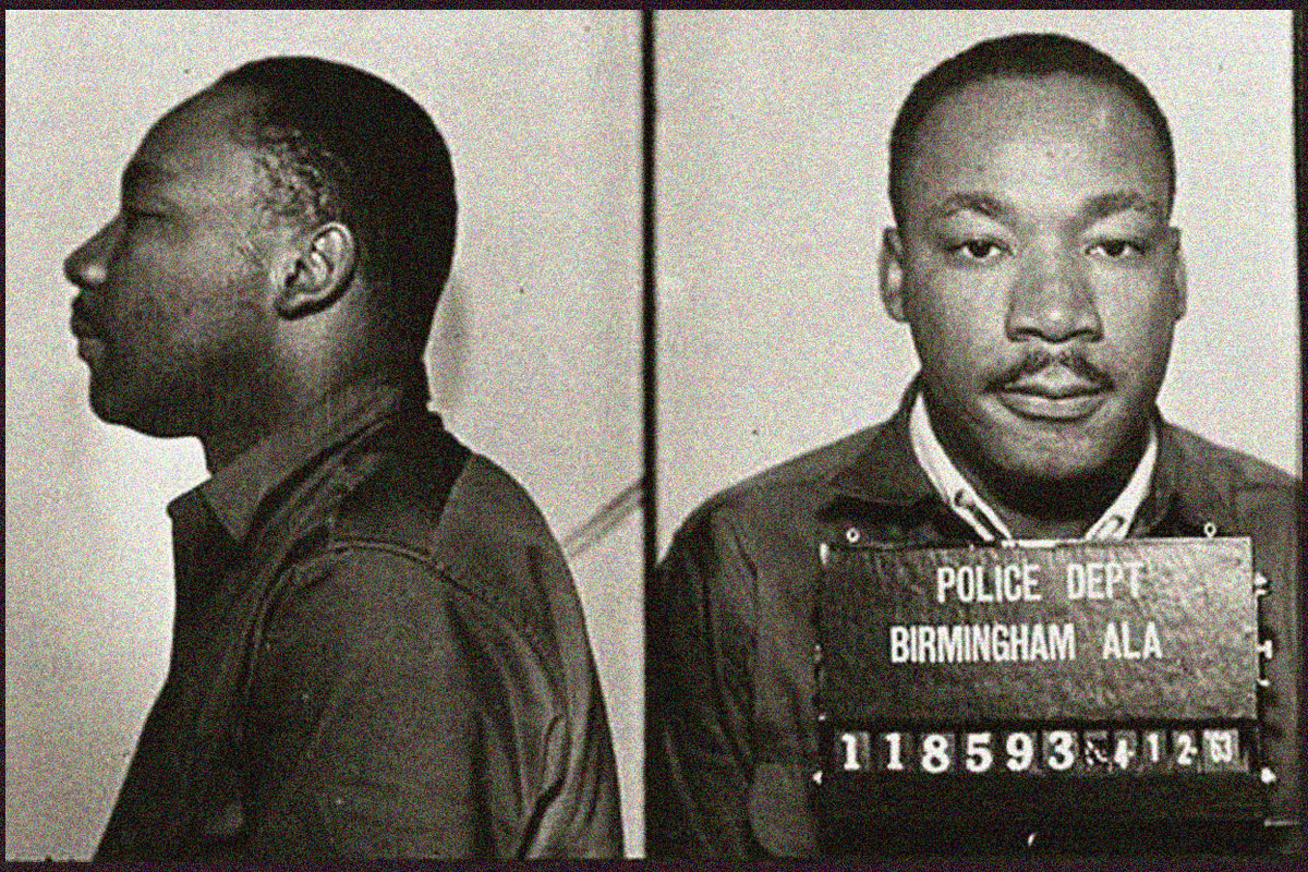 MLK from Birmingham Jail